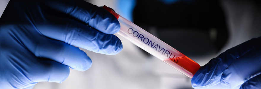 Société de nettoyage coronavirus
